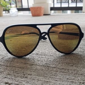 Ray-Ban Accessories - Ray Ban Cats 5000 Black Frame Sunglasses